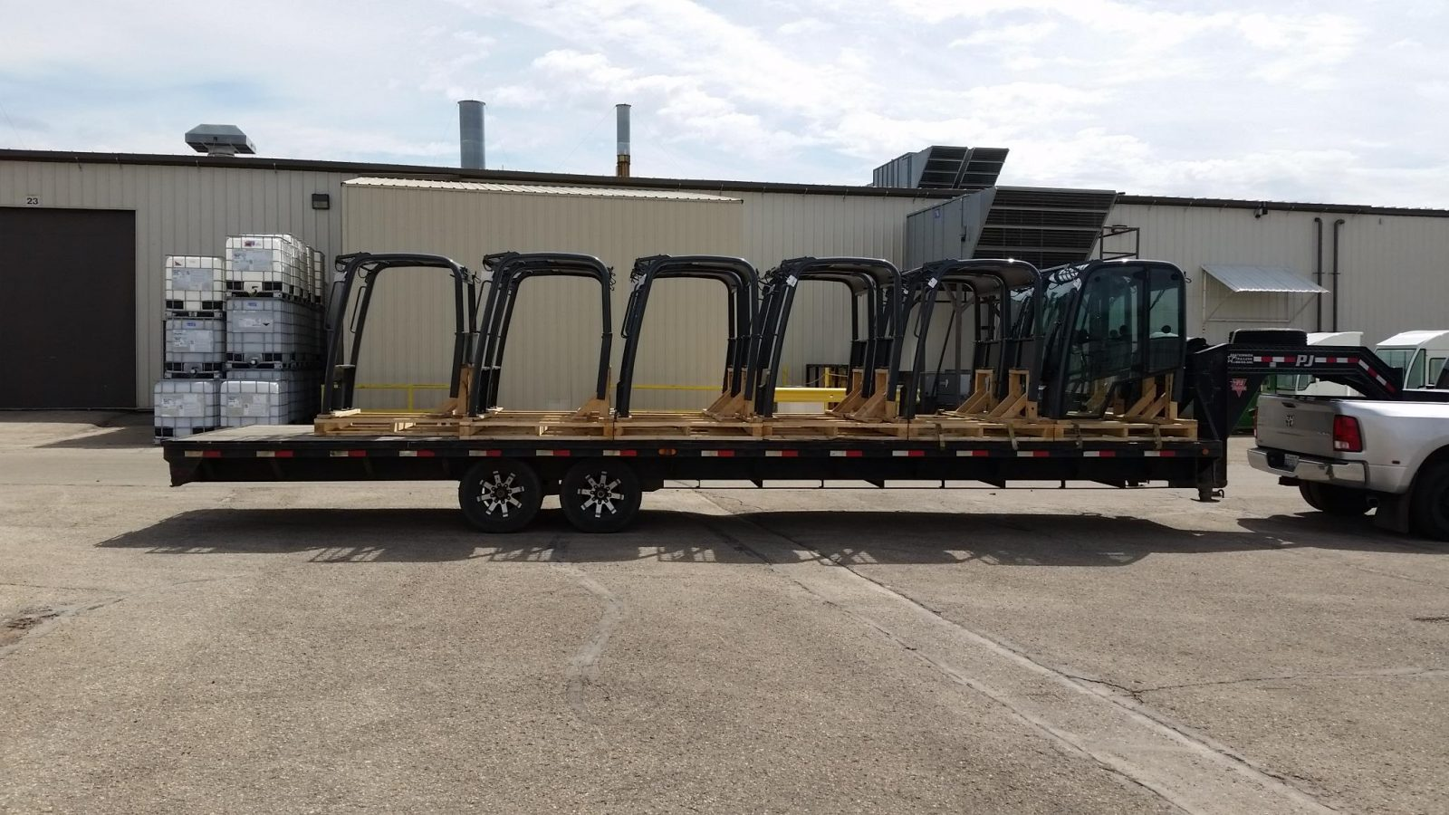 Canopies for small loaders